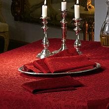 Servietten: Edle Jacquard-Damast-Tischwäsche mit