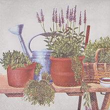 Servietten Kräuter 33 cm x 33 cm