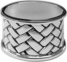 Serviettenring oval 5,5 cm Silber Plated
