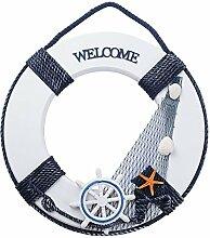 SERWOO (D: 30cm) Rettungsring Deko Maritime