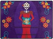 SESILY Mexikanischer Schädel-Mädchen-Tag der