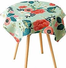 SESO UK- Amerikanische Land Baumwolle Und Leinen Tischdecken, Stoff TV-Schrank, Kaffee Tischdecke, Wohnkultur ( größe : 85*85cm )