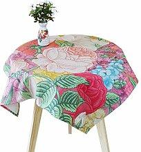 SESO UK- Einfache frische kreative Baumwolle Leinen Tischdecke, TV Schrank überdachte Handtücher Tücher, Couchtisch Tücher, Home Decorative ( größe : 140*140cm )
