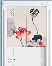 SESO UK- Klassische Tür Tür Vorhang Schattierung Schlafzimmer Badezimmer Tapisserie Raumteiler Wandbehänge - reduziert Wärmeverlust, verhindert Zugluft, spart Energie ( Farbe : #1 , größe : 85*90cm )