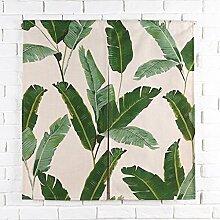 SESO UK- Ländliche Baumwolle Leinen Tür Tür Vorhang Schattierung Schlafzimmer Badezimmer Tapisserie Raumteiler Wandbehänge - reduziert Wärmeverlust, verhindert Zugluft, spart Energie ( Farbe : #2 , größe : 85*90cm )