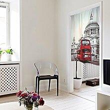 SESO UK- Moderner Tür Türvorhang Schattierung Schlafzimmer Badezimmer Tapisserie Raumteiler Wandbehänge - reduziert Wärmeverlust, verhindert Zugluft, spart Energie (85 * 125cm)