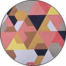SESO UK- Nordic Geometrischer Stuhl Teppich für