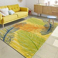 SESO UK- Nordic Modern Teppich Luxus rechteckig Designer Bett Teppiche Wohnzimmer Schlafzimmer ( größe : 140*200cm )