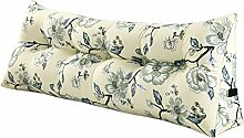 SESO UK- Schlafsofa Großes gefülltes dreieckiges Keilkissen Schlafzimmer Bett Rückenlehne Kissen Lesekissen Büro Lendenwirbelsäule mit abnehmbarem Bezug ( größe : 150*50*20cm )