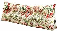 SESO UK- Schlafsofa Großes gefülltes dreieckiges Keilkissen Schlafzimmer Bett Rückenlehne Kissen Lesekissen Büro Lendenwirbelsäule mit abnehmbarem Bezug ( größe : 70*50*22cm )