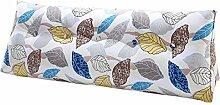 SESO UK- Schlafsofa Großes gefülltes dreieckiges Keilkissen Schlafzimmer Bett Rückenlehne Kissen Lesekissen Büro Lendenwirbelsäule mit abnehmbarem Bezug ( größe : 120*50*20cm )
