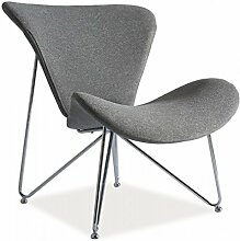 Sessel 'Almere' TV-Sessel Loungesessel , Farbe:Grau