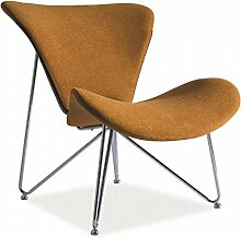 Sessel 'Almere' TV-Sessel Loungesessel , Farbe:Senf