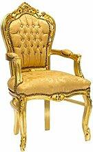 Sessel Barock gold