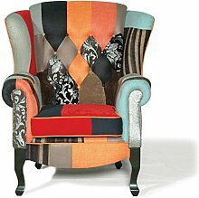 Sessel Berlin Patchwork mehrfarbig multi colours