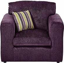 Sessel Budron ClassicLiving Polsterung: Pflaume