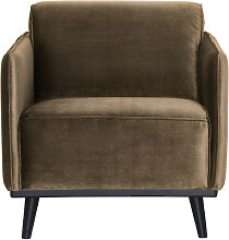 Sessel Clubsessel Statement Samt taupe