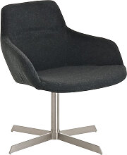 Sessel Coctailsessel Lounger - Ariel -  in trend Design in Dunkelgrau