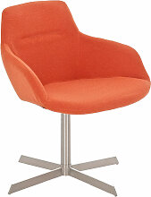 Sessel Coctailsessel Lounger - Ariel -  in trend Design in Orange