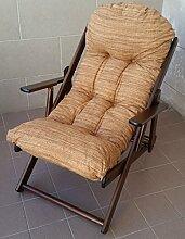 Sessel Liegestuhl Relax aus Holz klappbar Harmony