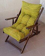 Sessel Liegestuhl Relax aus Holz zusammenklappbar