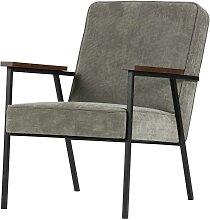 Sessel mit Armlehnen Grün Used Optik