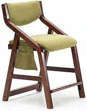 Sessel mit Rückenlehne und Armlehne die für verwendet werden kann Schreibtisch Essen Make-up Kind Lernen Stuhl zum Zuhause & Kommerziell ( Höhe Einstellbar Steigen Fallen ) Braun Grün