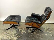 Sessel & Ottomane von Charles & Ray Eames für