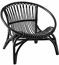 Sessel Rattan Colour: Black