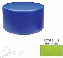 Sessel Sitzsack Kunstleder Bar Haus verschiedenen Farben Schaumstoff tondo80giosal Apfelgrün
