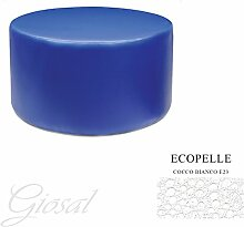 Sessel Sitzsack Kunstleder Bar Haus verschiedenen Farben Schaumstoff tondo80giosal Cocco Bianco