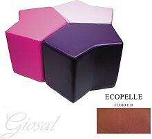 Sessel Sitzsack Sofa Chunk Armbänder 1Stück Kunstleder Bar Haus verschiedenen Farben Stern giosal Leder