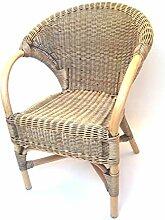 Sessel/Stuhl Rattansessel aus Peddigrohr exklusiv,