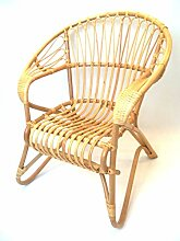 Sessel/Stuhl Rattansessel Sonnensessel aus Rattan,