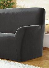 Sessel- und Sofabezüge, verschiedene Ausführungen, Größe 103 ( 3-Sitzer-Bezug ), Anthrazit