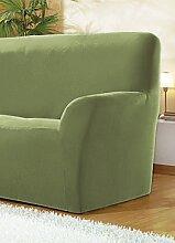 Sessel- und Sofabezüge, verschiedene Ausführungen, Größe 101 ( Sessel-Bezug ), Grün
