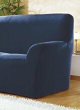 Sessel- und Sofabezüge, verschiedene Ausführungen, Größe 103 ( 3-Sitzer-Bezug ), Blau