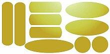 Set 10 Reflektierende Aufkleber für Signalgebung