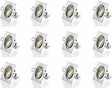 Set 12x GU10 Einbaustrahler LED von sweet-led® |
