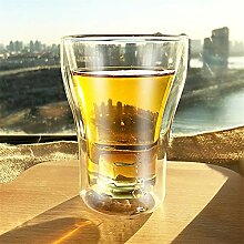 Set 2-80ml / 200ml / 250ml Doppelschicht Whiskey