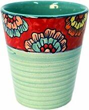 Set/2 Becher Tasse ohne Henkel Kaffeebecher