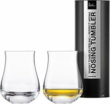Set 2 Whisky Nosing Tumbler 350ml/H.114mm -in