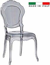 Set 4PZ. Stuhl Regina Art. 028Fume 'Design Modern Elegan