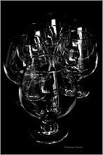 Set 6europäischen Brandy Cognac 368,5/390ml
