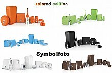 Set Angebot Marplast Colored Edition - Soft Touch - MP 706-714-742 Weiß