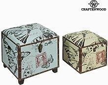 Set due bauli - Printed Collezione by Craften Wood (1000025340)