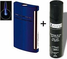 Set Dupont-Feuerzeug X-Tend Maxijet nachtblau