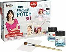 Set Foto-Transfer-Potch, Kerzen-Dekoration, CK