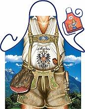 Set - Fun Grillschürze: Austria Mann braun -