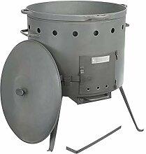 Set Kasan 30 Liter und Ø 52cm aus Gusseisen mit